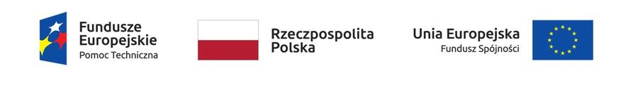 logotypy - Fundusze Europejskie Pomoc Techniczna, Rzeczpospolita Polska, Unia Europejska Fundusz Spójności